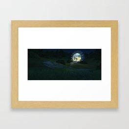 Time Portal Framed Art Print