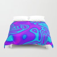 spiritual Duvet Covers featuring Spiritual Energy by Christy Leigh