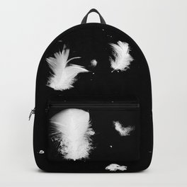 Goose feathers floating Backpack
