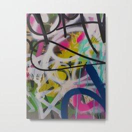 Graffiti Spray Wall Art Bologna Summer Metal Print