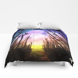 Twilight Woods Comforters