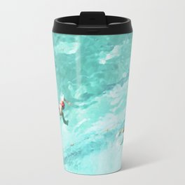 Resolutions (watercolour) Travel Mug