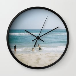 Kids Should Be In Charge 35mm Wall Clock