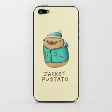 Jacket Pugtato iPhone & iPod Skin