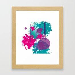 Fickle Queen Framed Art Print