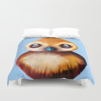 warcraft Duvet Covers featuring PePe by Mr. Stonebanks