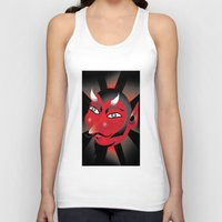 demon Tank Tops featuring Demon by riomarcos
