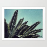 palms Art Prints featuring Palms by RichCaspian