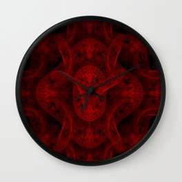 The Red Dragon Wall Clock