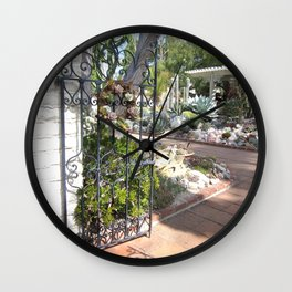 Sherman Library and Garden Wall Clock