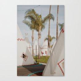 Wigwam Motel // Route 66 Canvas Print