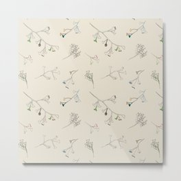 Branch doodle Metal Print