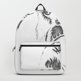Angry Gorilla Animal Tee Backpack