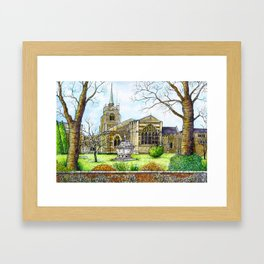 Chelmsford Cathedral, UK Framed Art Print