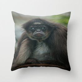 Mr Grumpy Throw Pillow