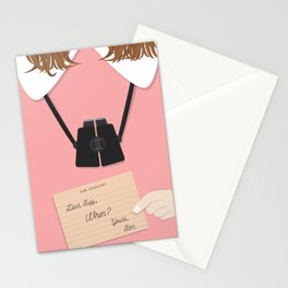 Moonrise Kingdom Wes Anderson Inspired Print - Suzy Stationery Cards