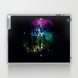 time traveller v2 Laptop & iPad Skin