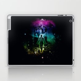 time traveller v2 Laptop & iPad Skin