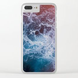 Living Ocean v5 Clear iPhone Case