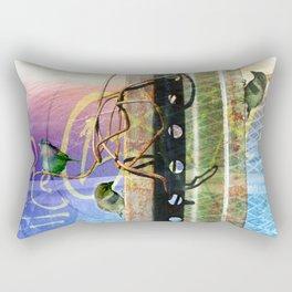 City Birds 02 Rectangular Pillow