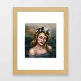 Mermaid Princess Framed Art Print