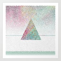 confetti Art Prints featuring CONFETTI by Kath Korth