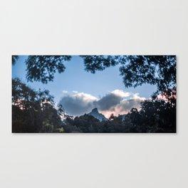 Sunset at Mount Warning, NSW Canvas Print