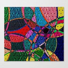 Festival Knit Canvas Print