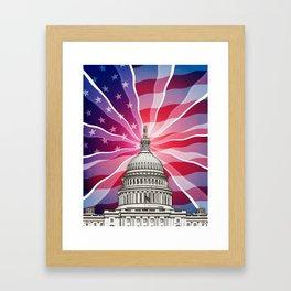 The World of Politics Framed Art Print