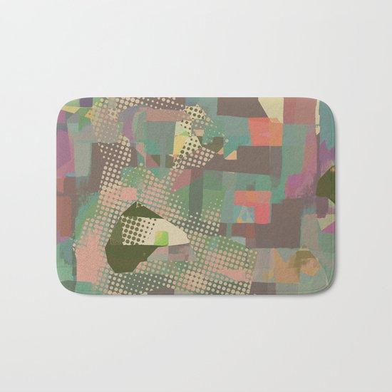 Abstract Painting No. 11 Bath Mat
