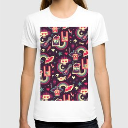 Rock and roll zombie party! T-shirt