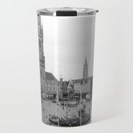 Brugge, Belgium City Center Travel Mug