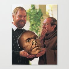 Oh, You Shouldn't Have: The Gift That Keeps On Creepin' Canvas Print