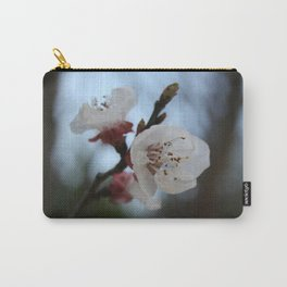 Close Up Apricot Blossom In Pastel Shades Carry-All Pouch