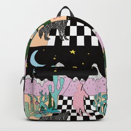 Postmodern Desert Dream Backpack