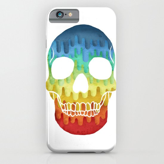 Paper Skull iPhone & iPod Case