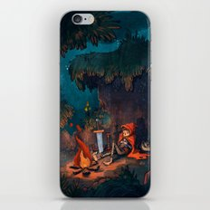 The Weary Traveller Rests iPhone & iPod Skin