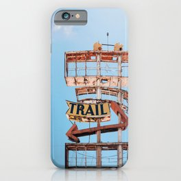 Vintage Neon Sign - The Spanish Trail -  Tucson iPhone Case