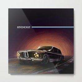 2002 car  Metal Print