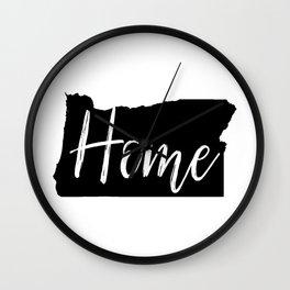 Oregon-Home Wall Clock