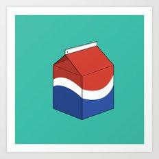 Pepsi in a box Art Print
