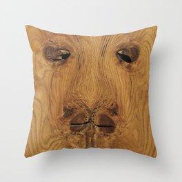 Lion Knot art Throw Pillow