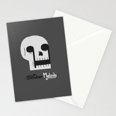 Somber Melody Stationery Cards