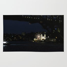 Luna Park by the Harbour Rug