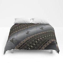 Elk Spirit (Gray) Comforters