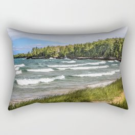 Au Train Bay Rectangular Pillow