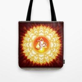 Sahasra Chakra - Crown Chakra Golden - First Editon Tote Bag