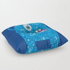 Peace Monster Floor Pillow