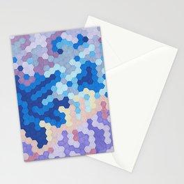 Nebula Hex Stationery Cards