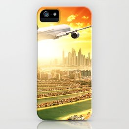 traveling in dubai iPhone Case
